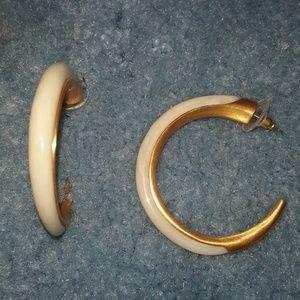 Thorns and Horns Hoop Earrings